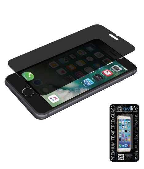 owllife Premium Tempered Glass privacy iphone 7