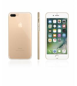 Bumper TPU Clear case iphone 7 Plus - Gold