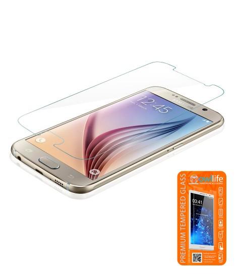 owllife Premium Tempered Glass Galaxy S6