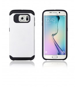 Duo Protection Case Galaxy S6 edge - White