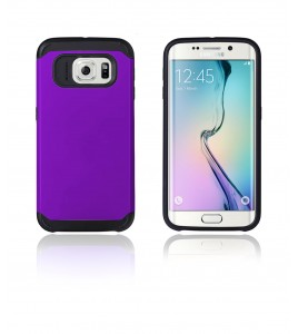 Duo Protection Case Galaxy S6 edge - Purple