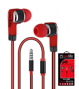 Owllife i-Blast Premium Headset - Red