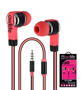 Owllife i-Blast Premium Headset - Pink