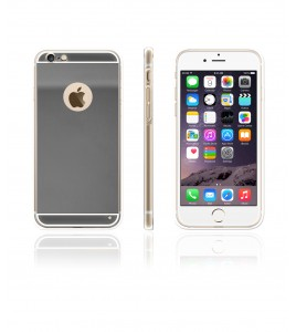 Gold TPU Case iPhone 6/6S - Silver
