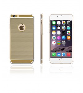 Gold TPU Case iPhone 6/6S - Gold
