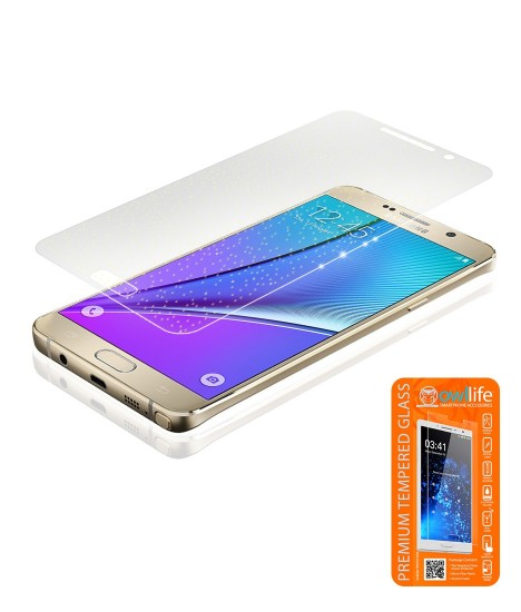 owllife Premium Tempered Glass Sparkles Galaxy Note 5