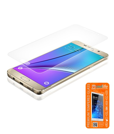 owllife Premium Tempered Glass Galaxy Note 5