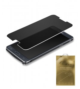 Premium Tempered Glass privacy Galaxy Note 4
