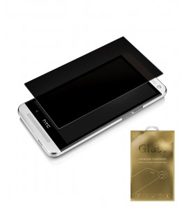 Premium Tempered Glass privacy HTC M8