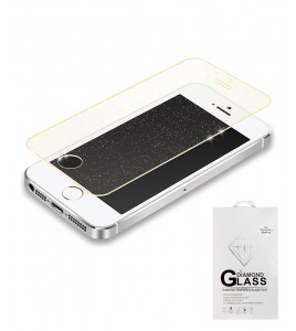 Premium Tempered Glass Sparkles iphone 5/5S