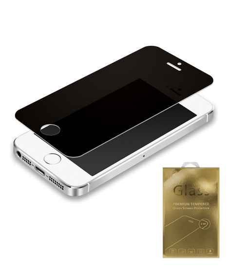Premium Tempered Glass privacy iphone 5/5S