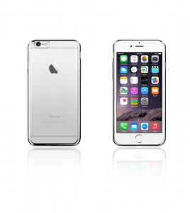 Electroplated TPU Case iphone 6/6S - Silver
