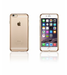 Electroplated TPU Case iphone 6/6S - Gold