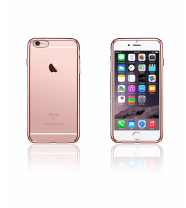 Electroplated TPU Case iphone 6/6S - Rose Gold