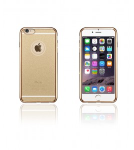 Sparkling Electroplated TPU Case iphone 6/6S - Gold