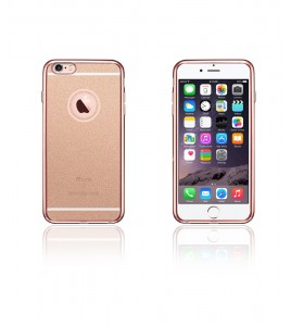 Sparkling Electroplated TPU Case iphone 6/6S - Rose Gold