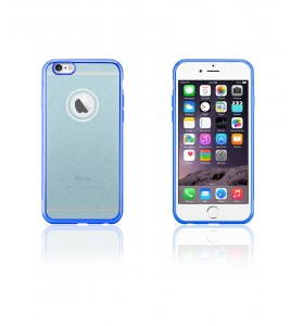 Sparkling Electroplated TPU Case iphone 6/6S - Blue