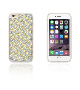 Diamond TPU Case iphone 6/6S - Gold