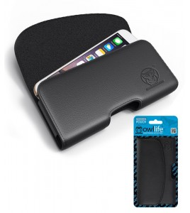 Universal Pouch iPhone 5/5S/SE - Black
