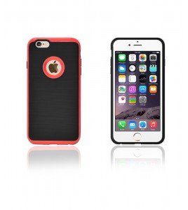Dome Case iphone 6/6S - Red