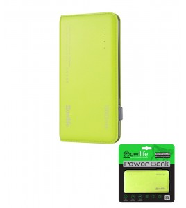 PowerBank by owllife 10000 - Green