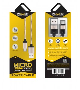 Micro USB Sync/Charge Cable