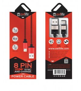8PIN Sync/Charge Cable