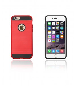 Metal Case iphone 6/6S - Red