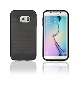 Metal Case Galaxy S6 edge - Black
