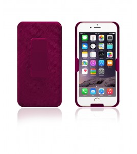 Holster Combo Case with Kick-Stand & Belt Clip iPhone 6 - Pink
