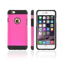Duo Protection Case iphone 6/6S - Pink