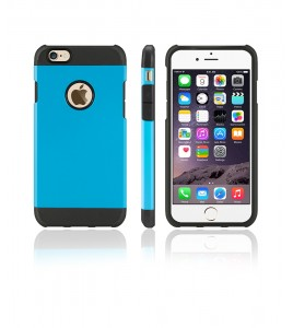 Duo Protection Case iphone 6/6S - Light Blue