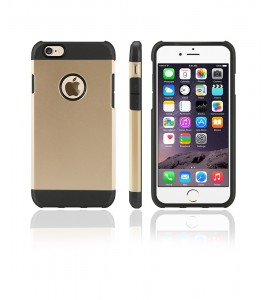 Duo Protection Case iphone 6/6S - Gold