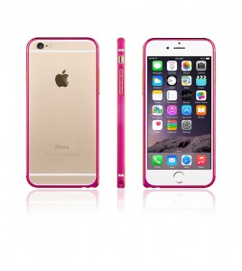 Metal Bumper iphone 6/6S - Hot Pink