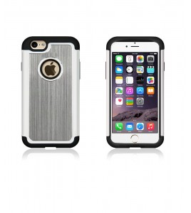 Metal Dual Protection iphone 6/6S - Gray