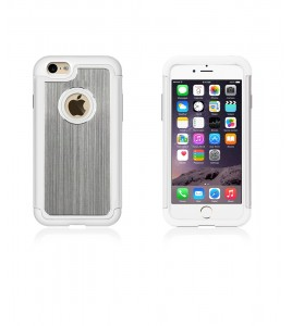 Metal Dual Protection iphone 6/6S - White