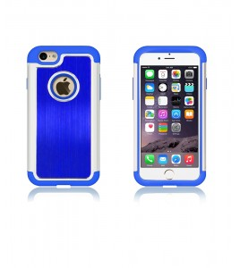 Metal Dual Protection iphone 6/6S - Blue