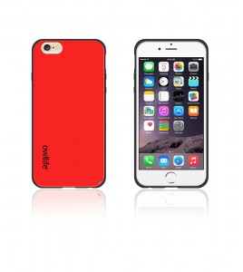 Owllife Matt Candy Case iphone 6/6S - Red