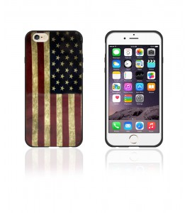 Flag Candy Case 6/6S - Black