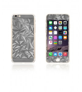 Glass Design iphone 6/6S - Silver