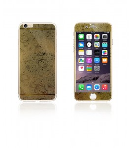 Glass Design iphone 6/6S - Gold