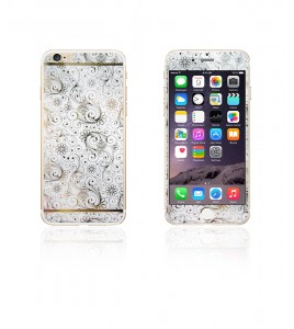 Glass Design iphone 6/6S - White