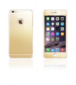Glass Design iphone 6 Plus/6S Plus - Gold