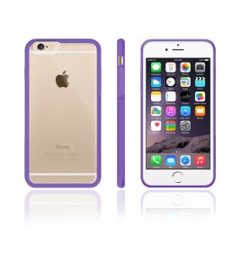 Matt Gummy Case iphone 6/6S - Purple