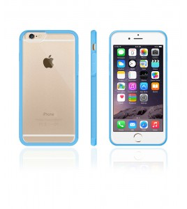 Matt Gummy Case iphone 6/6S - Light Blue