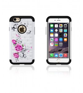 SiliTough diamond case iPhone 6/6S - Design
