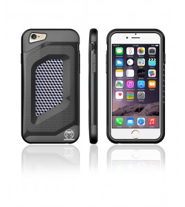 Carbon Fiber Case iphone 6/6S - Black