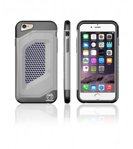 Carbon Fiber Case iphone 6/6S - Gray
