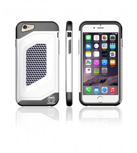 Carbon Fiber Case iphone 6/6S - White