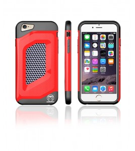 Carbon Fiber Case iphone 6/6S - Red